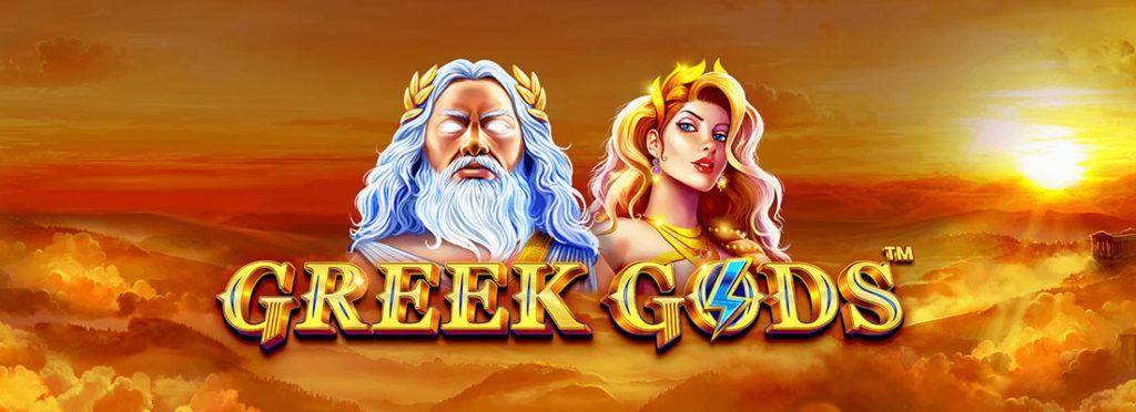 Greek Gods Slot Banner